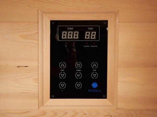 Betjening i MaXXwell Halti infrarød sauna