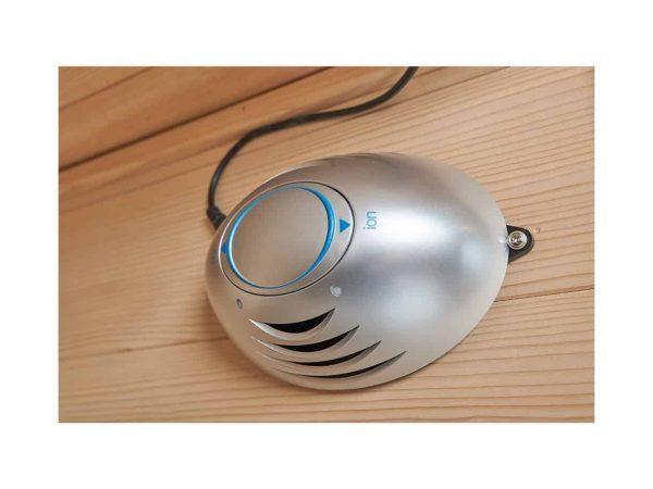 Ionizer i infrarød sauna