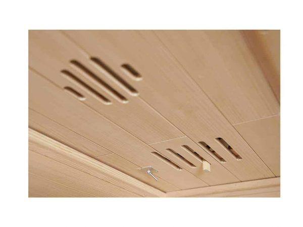 MaXXwell infrarød sauna indeni